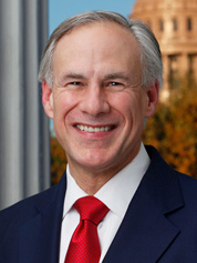 Greg Abbott. Photo credit: Office of the Texas Governor.