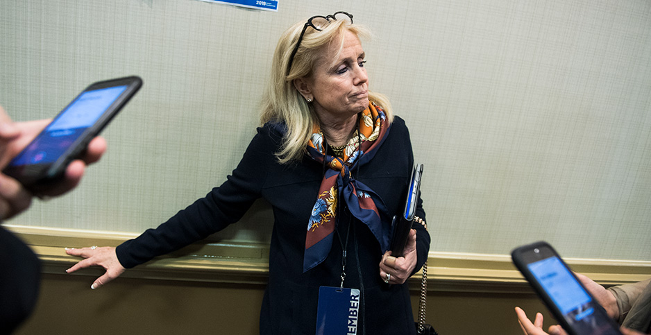 Debbie Dingell. Photo credit: Tom Williams/CQ Roll Call/Newscom