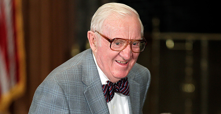 John Paul Stevens. Photo credit: J. Scott Applewhite/CNP/Polaris/Newscom