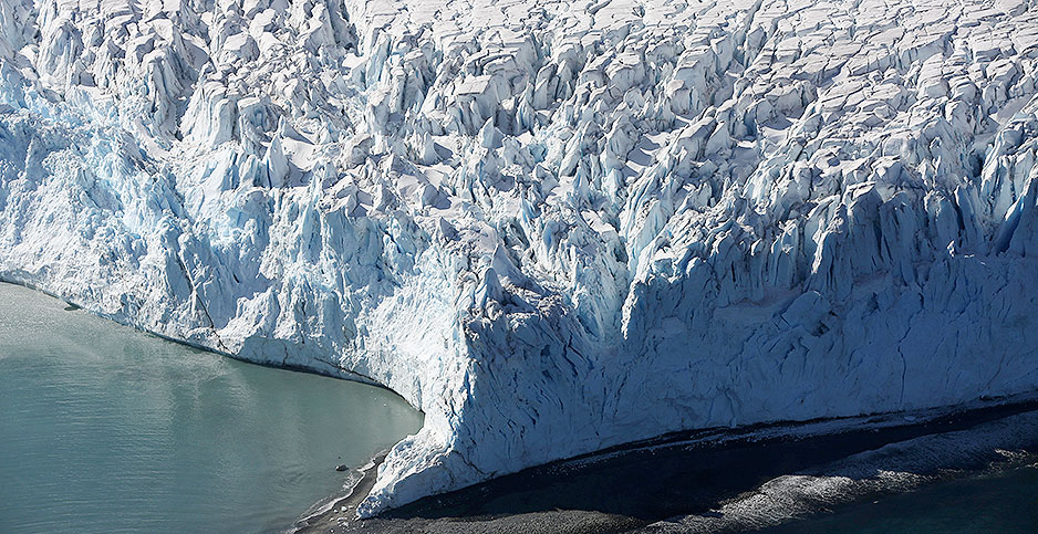 Glacier. Photo credit: Alexandre Meneghini/REUTERS/Newscom
