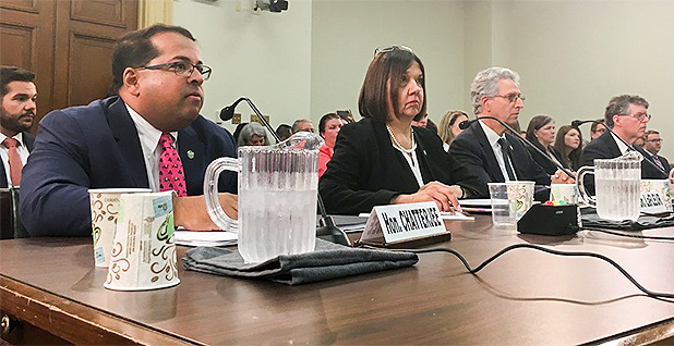 FERC members testify. Photo credit: @FERC/Twitter