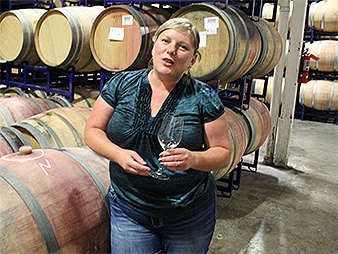 Winemaker Brooke Shen. Photo credit: Marc Heller/E&E News