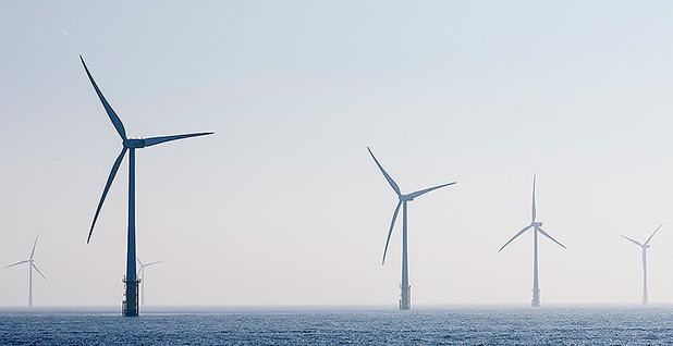 Wind turbines. Photo credit: Delaware Offshore Wind Working Group