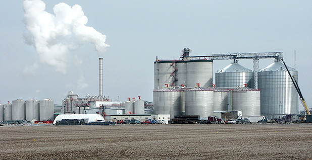 An ethanol plant in West Burlington, Iowa. Photo credit: USDA/Steven Vaughn/Wikipedia