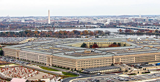 Pentagon. Photo credit: Pentagon Force Protection Agency