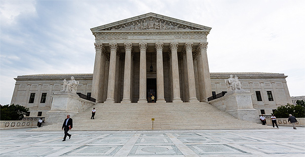 Supreme Court. Photo credit: Francis Chung/E&E News