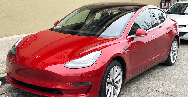 Tesla Model 3. Photo credit: Carlquinn/Wikimedia Commons
