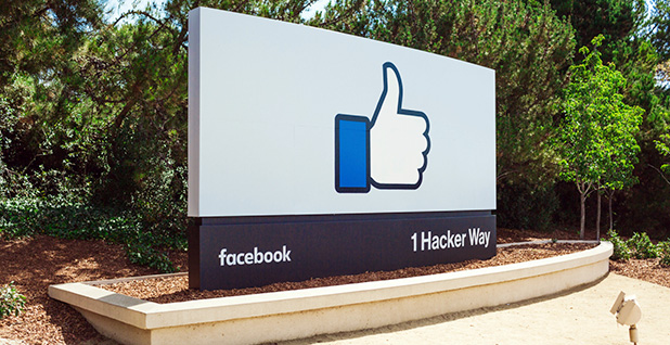 Facebook, Inc., headquarters in Menlo Park, Ca. Photo credit: Facebook
