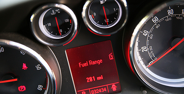 Fuel gauges. Photo credit: Highways England/Flickr