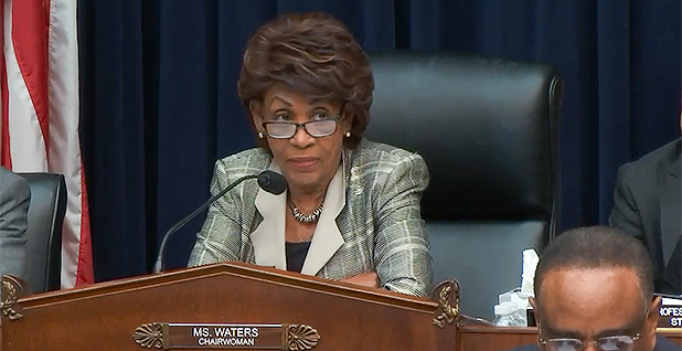Rep. Maxine Waters (D-Calif.). Photo credit: Financial Services Committee