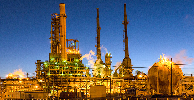 Valero Port Arthur refinery at dusk. Photo credit: Carol M. Highsmith/Library of Congress/Wikimedia Commons