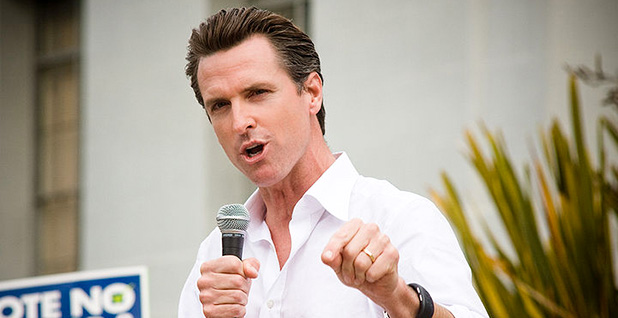 Gavin Newsom. Photo credit: Charlie Nguyen/Flickr