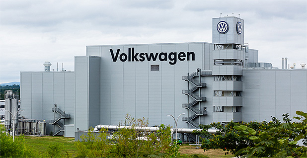Volkswagen Plant. Photo credit: Francis Chung/E&E News