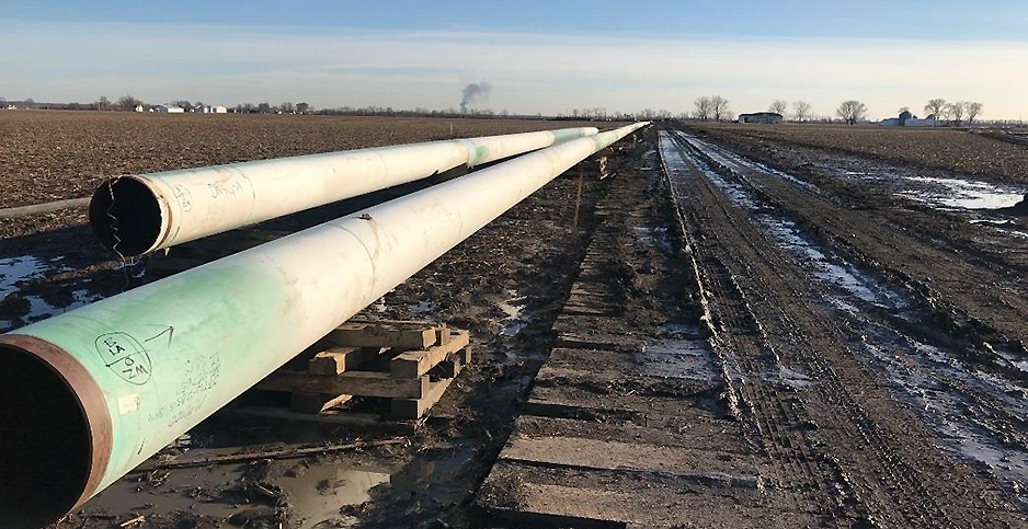 The Spire STL gas pipeline. Photo credit: Federal Energy Regulatory Commission