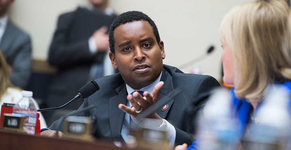 Rep. Joe Neguse (D-Colo.). Photo credit: Tom Williams/CQ Roll Call/Newscom