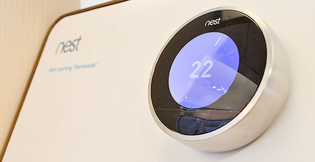 Nest thermostat. Photo credit: Raysonho/Wikipedia