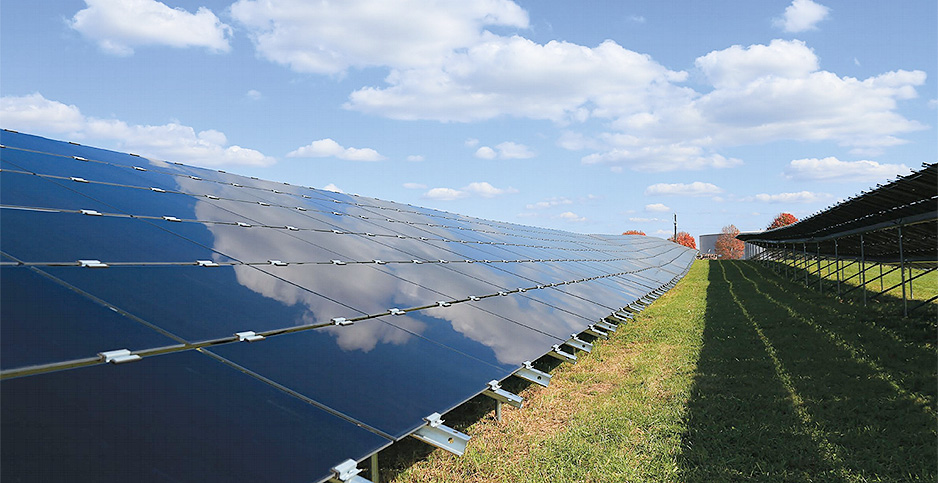 Va. solar array. Photo credit: Dominion Energy