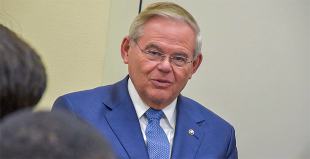 Sen. Robert Menendez (D-N.J.). Photo credit: Menendez/Facebook