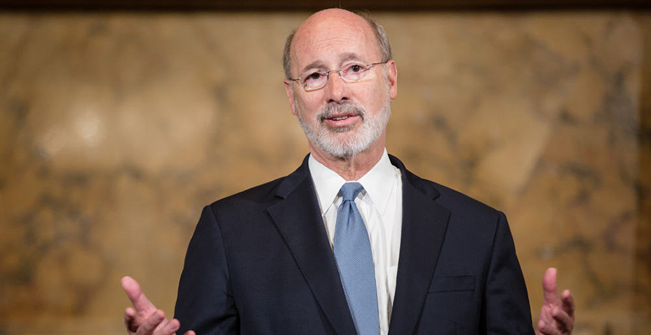 Pennsylvania Gov. Tom Wolf (D). Photo credit: Gov. Tom Wolf/Twitter
