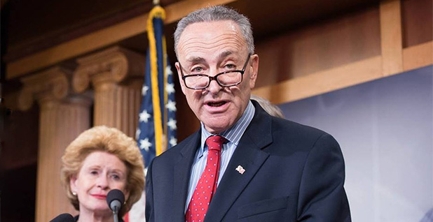 Sen. Chuck Schumer (D-N.Y.). Photo credit: Schumer/Facebook