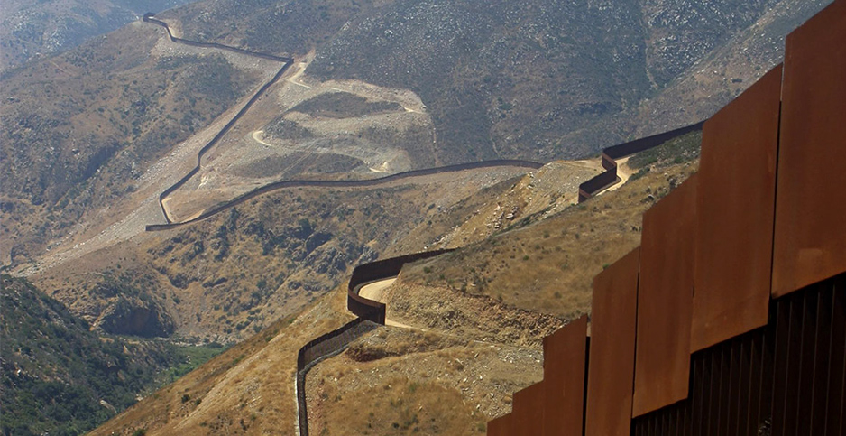 Border Wall. Photo credit: Scott Nicol/Sierra Club.