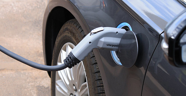 Electric vehicle charging. Photo credit: NoyaFields/Flickr