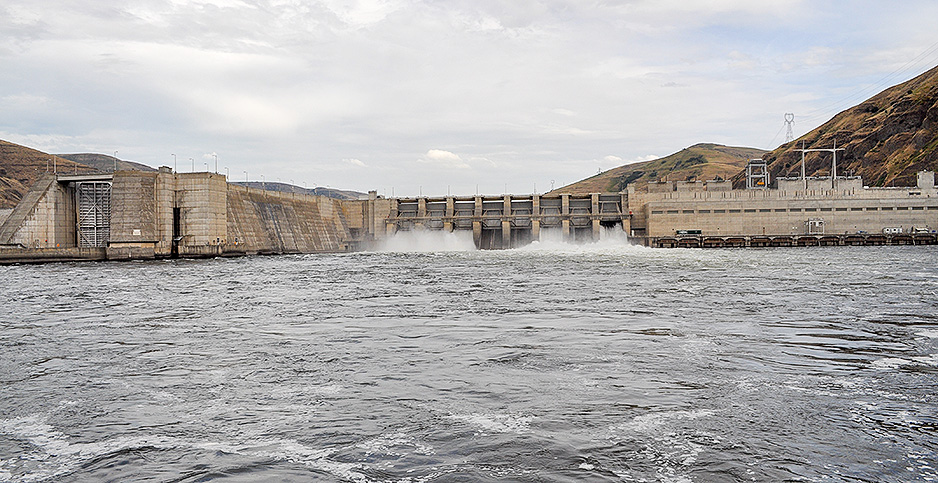 Lower Granite Dam. Photo credit: Jeremy P. Jacobs/E&E News