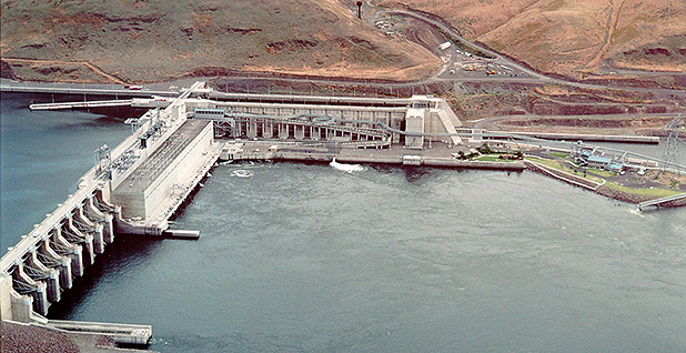 Little Goose Lock and Dam. Photo credit: U.S. Army Corps of Engineers