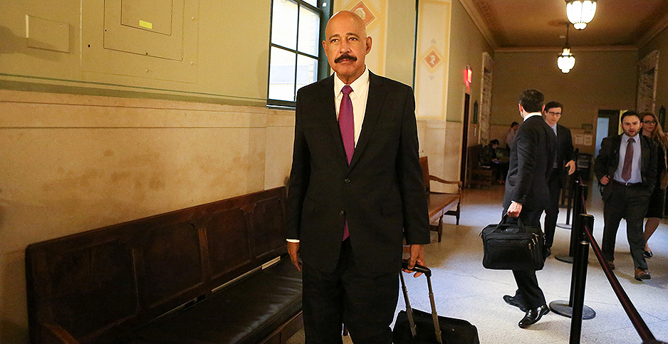 Theodore Wells, a lawyer for Exxon Mobil. Photo credit: Jefferson Siegel/REUTERS/Newscom