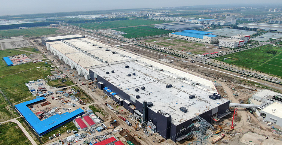 China encouraged Tesla to build a gigafactory near Shanghai. Photo credit: Sipa Asia/Sipa USA/Newscom