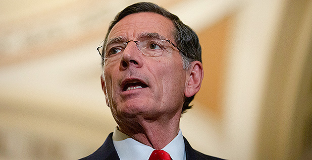 Sen. John Barrasso (R-Wyo.). Photo credit: Stefani Reynolds/CNP/Sipa USA/Newscom