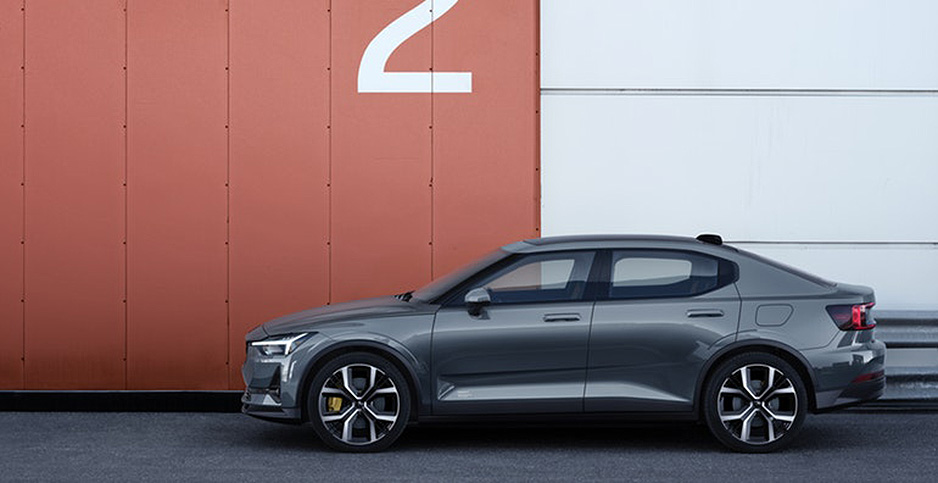 A new carmaker in China, Polestar, unveiled its first model, the electric Polestar 2. Photo credit: Polestar