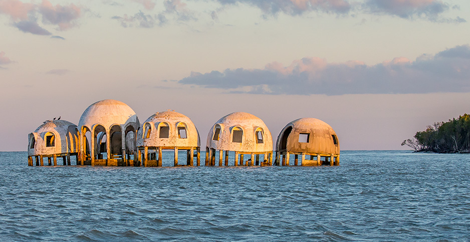 This dome home off Marco Island, Fla., was designed in the 1980s. Photo credit: Andy Morffew/Flickr