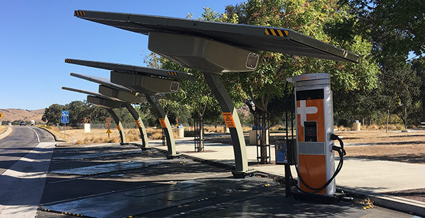 ChargePoint EV charging station. Photo credit: David Ferris/E&E News