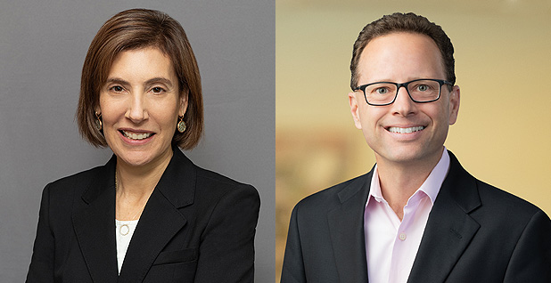 Lisa Blatt and Joseph Palmore. Photo credit: Williams & Connolly and Morrison & Foerster
