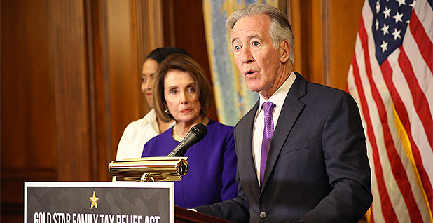 Reps. Richard Neal (D-Mass.) and Nancy Pelosi (D-Calif.). Photo credit: Ways and Means/Facebook