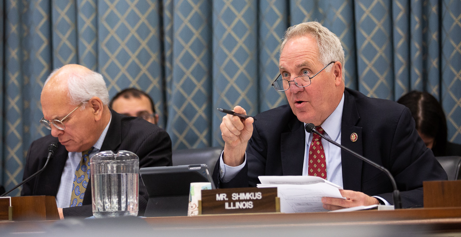 Reps. Paul Tonko (D-N.Y.) and John Shimkus (R-Ill.). Photo credit: Francis Chung/E&E News