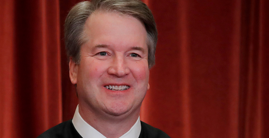 Justice Kavanaugh. Photo credit: Jim Young/REUTERS/Newscom