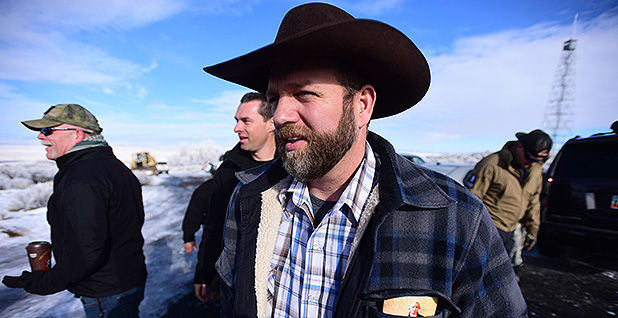 Ammon Bundy. Photo credit: Alex Milan Tracy/Sipa USA/Newscom