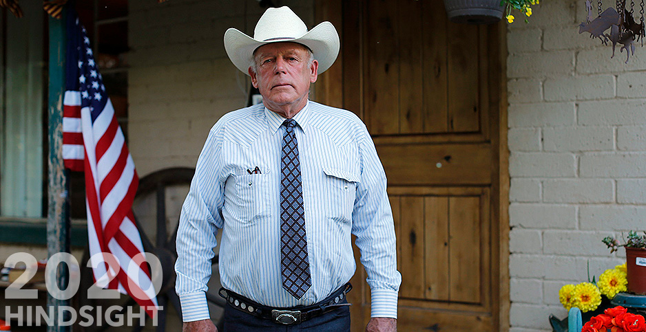 Rancher Cliven Bundy. Photo credit: Mike Blake/REUTERS/Newscom