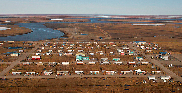 Village of Nuiqsut, Alaska. Photo credit: Steve Ringman/KRT/Newscom