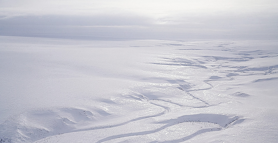 Winter in the National Petroleum Reserve in Alaska. Photo credit: BLM/Flickr