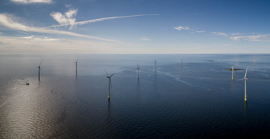 The Tahkoluoto offshore wind project in Finland. Photo Credit: @Hyotytuuli/Facebook