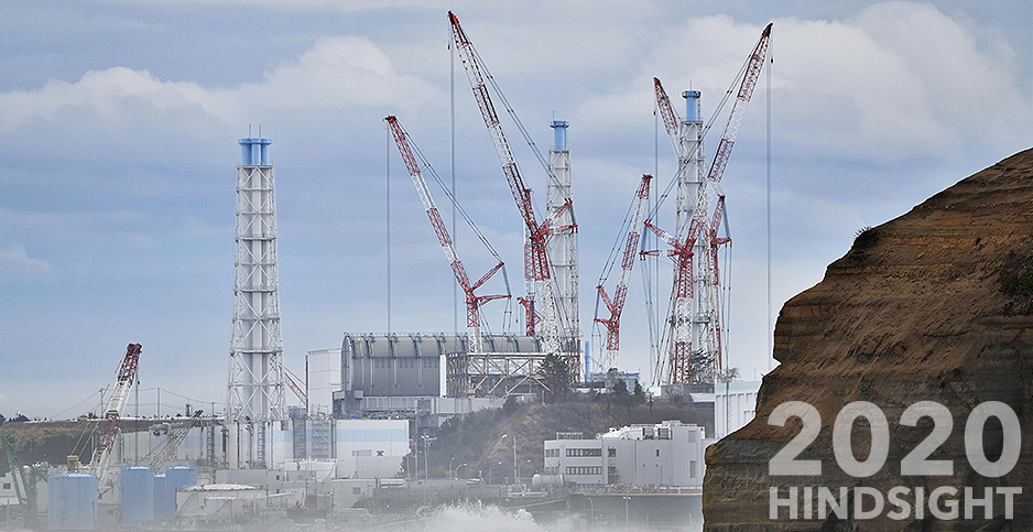 The Fukushima Daiichi nuclear power plant is seen on March 11, 2019.  Kyodo/Newscom