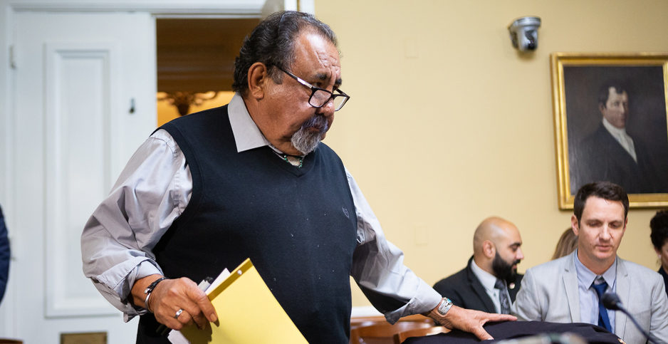Raul Grijalva. Photo credit: Francis Chung/E&E News