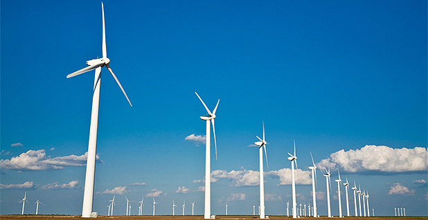 Wind turbines. Photo credit:U.S. Energy Information Administration.