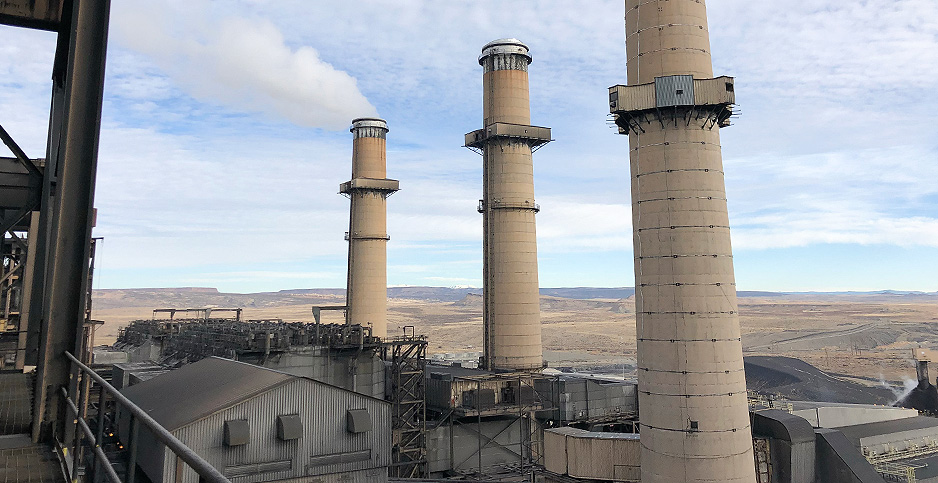 San Juan Generating Station in Waterflow, N.M. Photo credit: Benjamin Storrow/E&E News