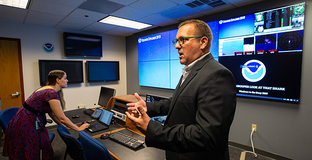 Alan Leonardi, director of NOAA's Office of Ocean Exploration and Research. Photo credit: Francis Chung/E&E News