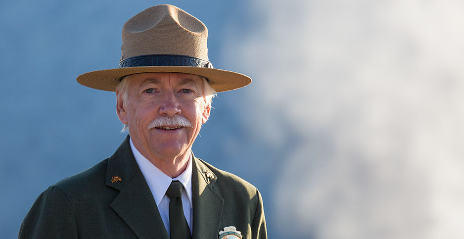 Former National Park Service Director Jonathan Jarvis. Photo credit: Yellowstone National Park/Flickr