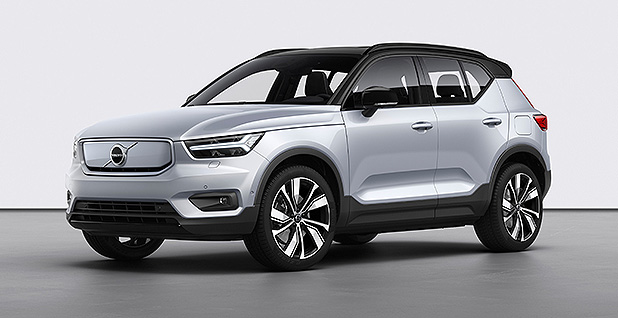Volvo's XC40 Recharge electric SUV is pictured. Photo credit: GDA Photo Service/Newscom